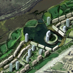 Detalles de la miniciudad que construirá IRSA en los terrenos de la ex Ciudad Deportiva de Boca