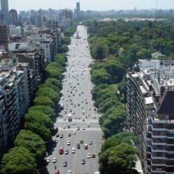 """Presentan un proyecto para crear un """"corredor verde"""" en toda la traza porteña de avenida del Libertador"""
