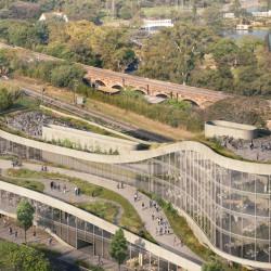 Avanza el proyecto para construir un edificio comercial frente a los Bosques de Palermo