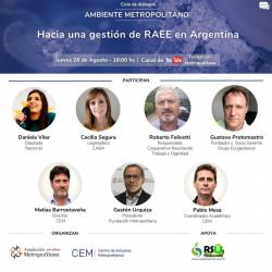 Residuos Electrónicos en Argentina - Fundación Metropolitana