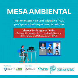 Mesa Ambiental Resolución 317 -  Fundación Metropolitana