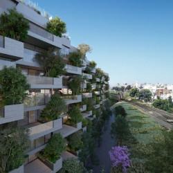 Así es el millonario proyecto que se construye en uno de los últimos terrenos de Barrio Parque