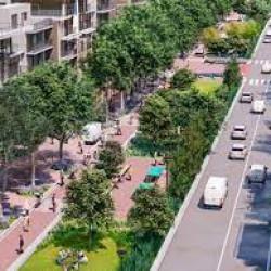 La avenida porteña que será mano única: cómo es el plan para convertirla en un corredor verde