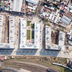 Ya se mudaron más de 550 familias a las nuevas viviendas construidas en el Playón de Chacarita